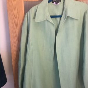 Ellen Tracy knee length jacket